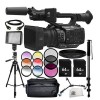 Panasonic AG-UX180 Professional Camcorder- Includes 2x 64GB Cards | Filter Kit (UV   CPL   FLD) & More