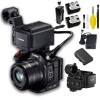 Canon XC15 4K Professional Camcorder with Base Bundle