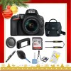 Nikon D5600 DSLR Camera with 18-55mm Lens (Black)  |Nikon Case | Sandisk 32GB Memory Card |Cleaning Kit - Holiday Gift Special