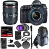 Canon EOS 5D Mark IV Camera w/ EF 24-105mm f/4L Is II USM Lens & 64GB Bundle
