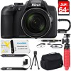 Nikon COOLPIX B700 20.2 MP 60x Opt Zoom Super Telephoto NIKKOR Digital Camera 64GB Bundle