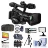 Canon XF300 HD Professional Camcorder 64GB MEMORY CARD LED LIGHT BUNDLE