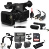 Panasonic AG-UX180 4K Premium Professional Camcorder with 2x Spare Batteries & More Bundle