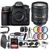 Nikon D850 DSLR Camera w/ 24-120mm f/4G ED VR AF-S NIKKOR Lens Bundle