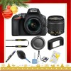 Nikon D5600 DSLR Camera with 18-55mm Lens (Black) |Cleaning Kit - Holiday Gift Special
