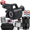 Sony PXW-FS5M2 4K XDCAM Super35mm Compact Camcorder with 18-105mm Zoom Lens 72mm Filters Bundle