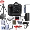 Nikon D5 DSLR CF Version Body With 64GB Pro Accessory Bundle