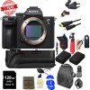 Sony Alpha a7 III Mirrorless Digital Camera (Body Only) USA w/ Battery Grip Deluxe Bundle