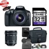 Canon EOS Rebel 1300D / T6 DSLR Camera Bundle with Canon EF-S 10-18mm f/4.5-5.6 IS STM