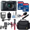 Canon PowerShot G1 X Mark II Digital Camera and 32GB MEMORY CARD BUNDLE