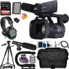 JVC GY-HM660u ProHD Mobile News Streaming with SanDisk 128GB MC, Professional Tripod, Tripod Dolly, Professional Carrying Case, and More