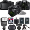 Nikon Coolpix B700 Digital 20.2MP 4K WiFi NFC Camera 60X Zoom + LED - 64GB Deluxe Bundle