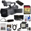 JVC GY-HM200U/250 Ultra 4K HD 4KCAM Professional Camcorder & Top Handle Audio Unit