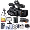 Canon XF105 HD Professional Camcorder + 6GB MEMORY CARD + FULL SIZIE TRIPOD BUNDLE