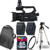 Canon XA55 Professional UHD 4K Camcorder with 32GB Starter Kit USA