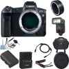 Canon EOS R Mirrorless Digital Camera with Mount Adapter EF-EOS R Starter Bundle