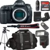 Canon EOS 5D Mark IV Full Frame Digital SLR Camera Body Only  Bundle + 64GB High Speed Memory Card + Canon 300DG Deluxe Camera Bag