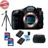 SONY SLTA99V ALPHA SLT-A99V SLT-A99 FULL-FRAME 24.3 MP SLR DIGITAL CAMERA WITH 3-INCH LED - BODY ONLY (BLACK) BUNDLE WITH 32GB HIGH SPEED CARD