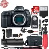 Canon EOS 5D Mark IV GPS WiFi NFC DSLR Camera Body | Tripod - 64GB Supreme Bundle