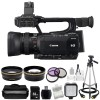 Canon XF105 HD Professional Camcorder Accessory Bundle