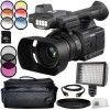 Panasonic AG-AC30 Bundle- Includes 3 Piece Filter Kit (UV CPL FLD) |6pc Graduated Filter Kit |64GB SD Memory Card |ND Filter