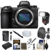 Nikon Z7 Mirrorless Digital Camera (Body Only) USA with Backpack | Flash |  Battery Charger Kit Bundle
