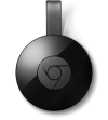 Google Chromecast Streaming Media Player (2nd Gen/2015 Model) - Black