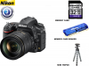 Nikon D750 DSLR Camera with 24-120mm Lens USA Starter Kit