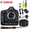 Canon EOS-1D X Mark II DSLR Camera with Canon 50mm 1.8 STM Lens Basic Kit